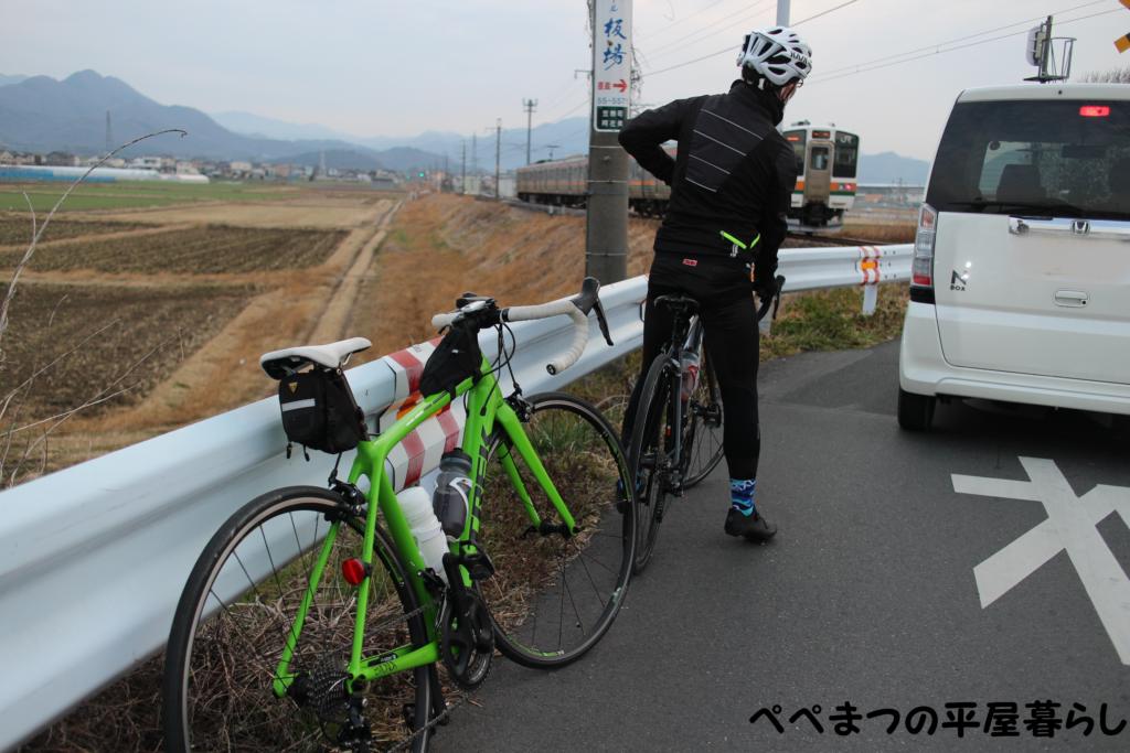 群馬 グルメライド ロードバイク TREK