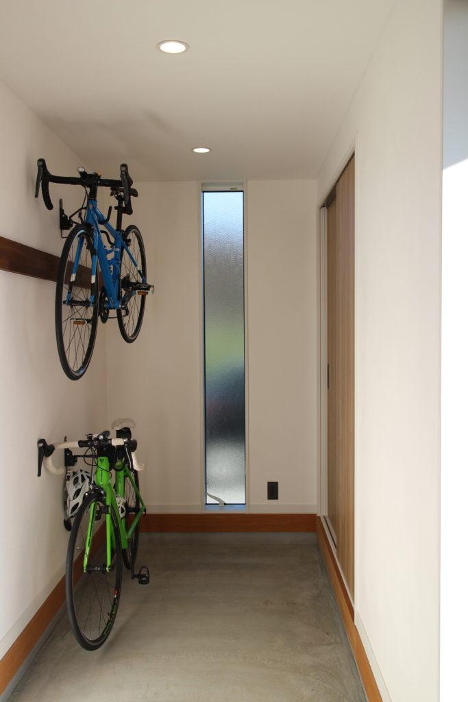 25坪 30坪 平屋 土間 ロードバイク